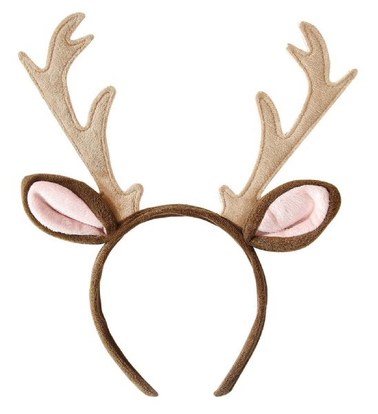 Adults Womens Reindeer Headpiece Christmas Rudolp Rudolf Party Hat